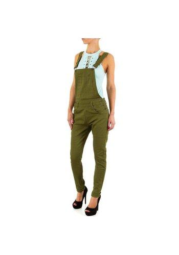 Semaforo denim Dames Jeans van Semaforo Denim - Groen