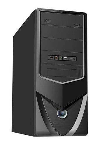 No-name Midi-tower ATX P4 case with UPS 650 VA, without power supply