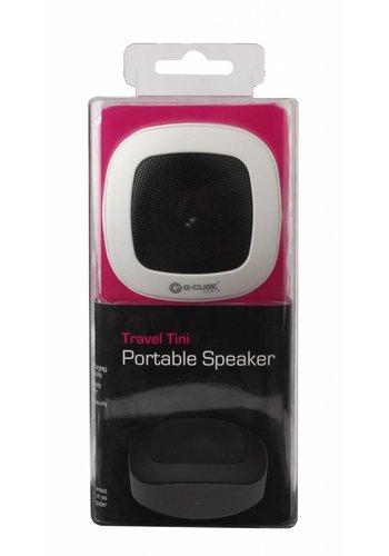 G-Cube Travel-Tini - Portable Speaker - White