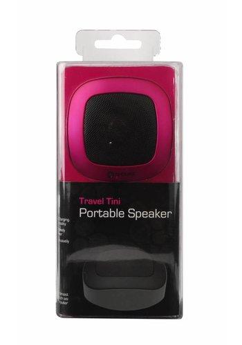 G-Cube Travel Tini - Draagbare Speaker - Metallic Roze
