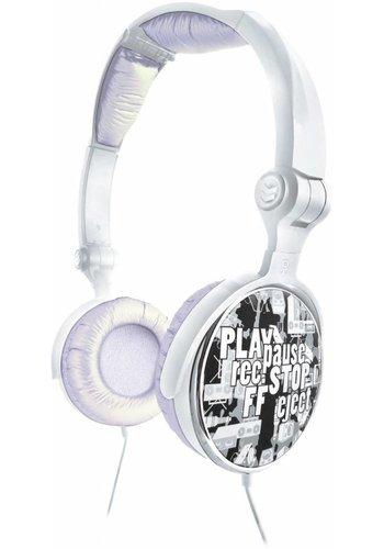 G-Cube G-Play - Silver - Stereo folding headphone