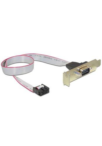 Cablexpert DB9 seriële poort op bracket