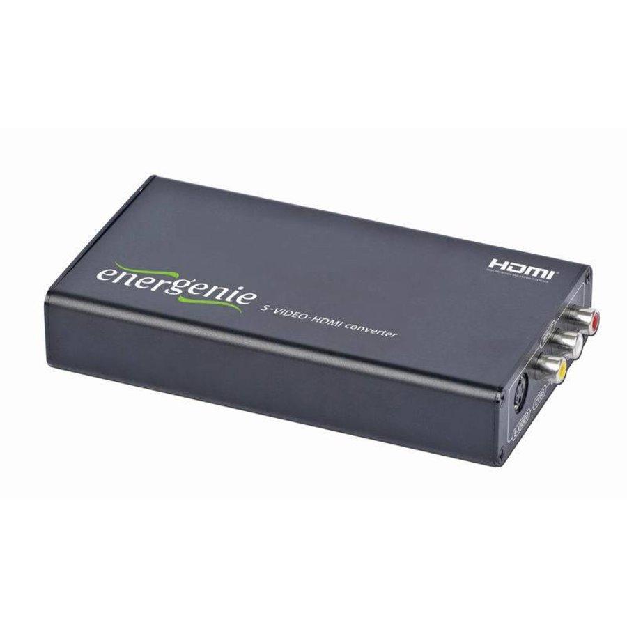 DSC-SVIDEO-HDMI S-VIDEO- auf HDMI-Adapter