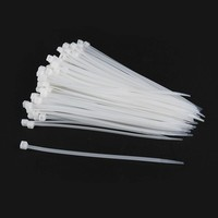 Nylon cable ties 150mm 3.2mm width bag of 100 pcs