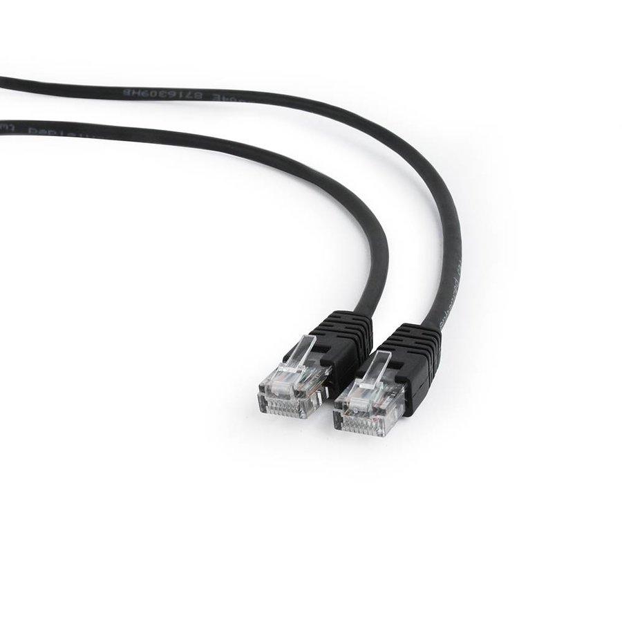 CAT5e UTP Patch cord, black, 5 m