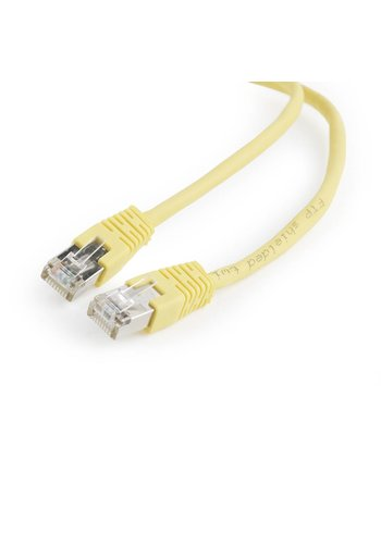 Cablexpert FTP Cat5E patchkabel, 0,5 m, geel
