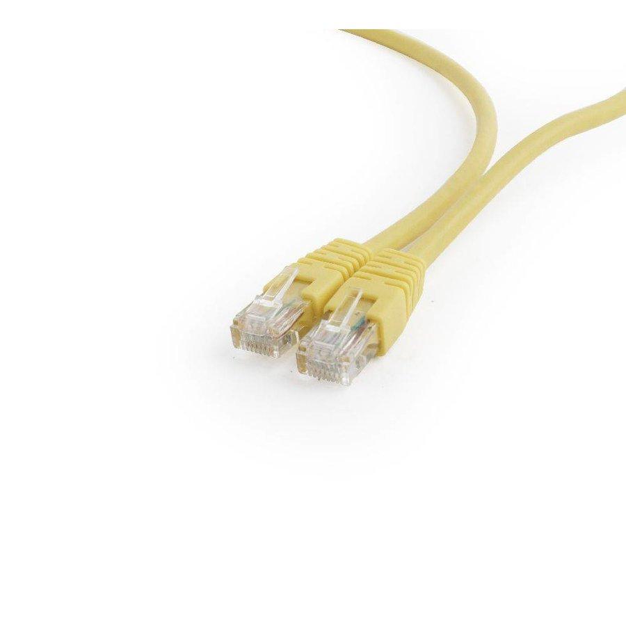 UTP Cat6 Patch cord, 0.25 m, yellow