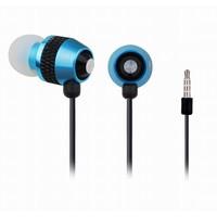 In-Ear Kopfhörer mit Mikrofon, blau