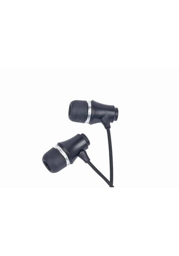 Gembird MP3 stereo oortelefoon, 3.5mm jack, zwart