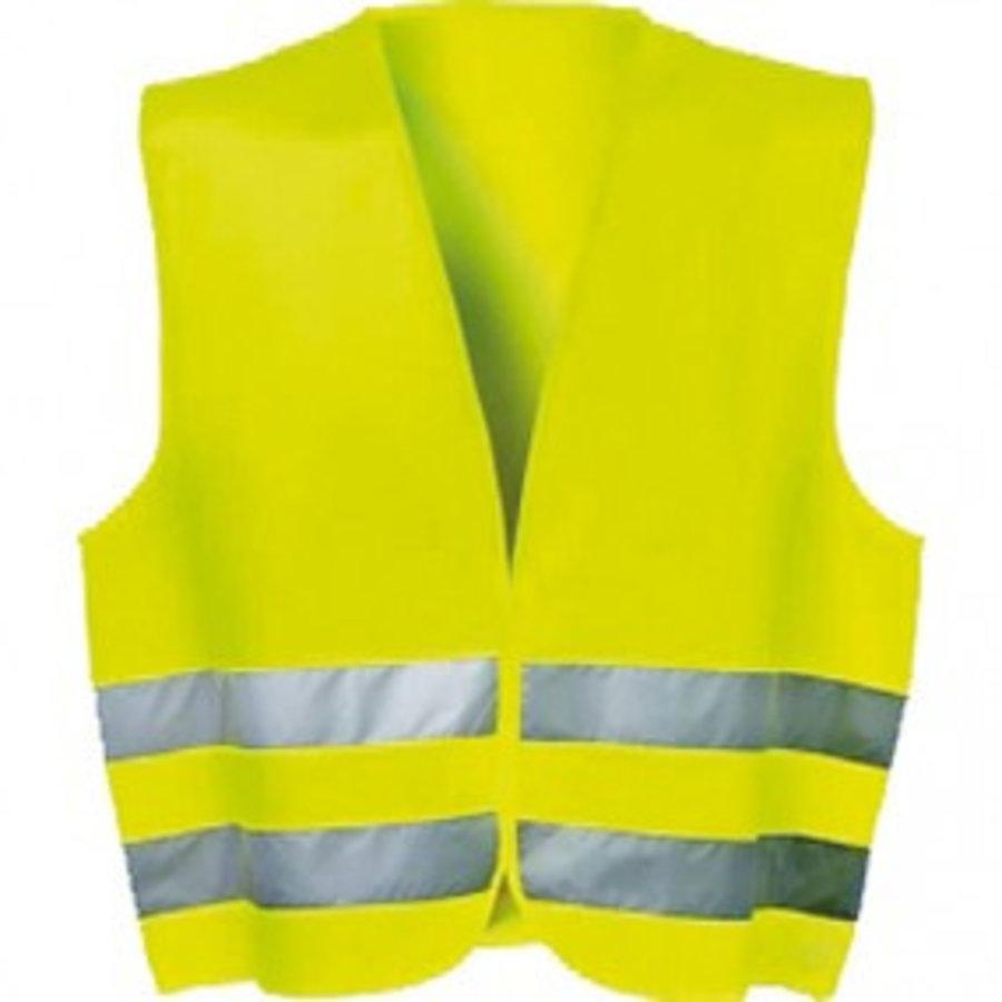 Warnweste Neon fürs Auto nach Norm EN ISO 20471