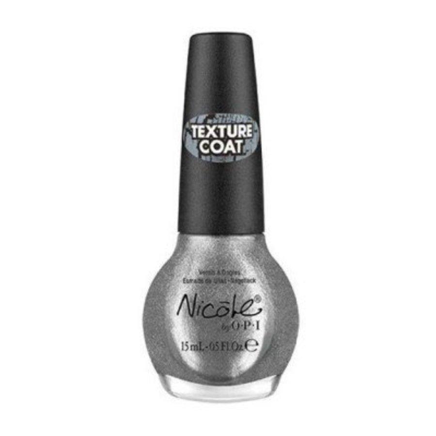 Nagellak Silver Texture 15 ml NI 378