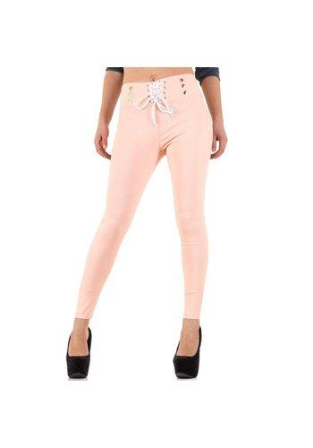 Best Fashion Dames Broek van Best Fashion - Roze