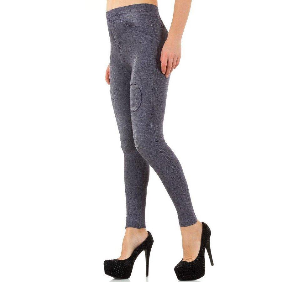 Damen Leggings von Best Fashion Gr. one size - grey