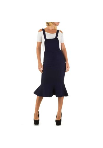 MOEWY Dames Overal Rok van Moewy  one size - Blauw