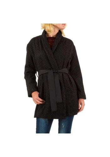 JCL Damen Mantel von Jcl - brown