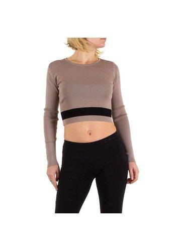 Neckermann Damen Pullover Gr. one size - beige