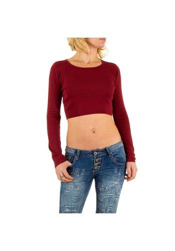 Neckermann Damen Pullover Gr. one size - red