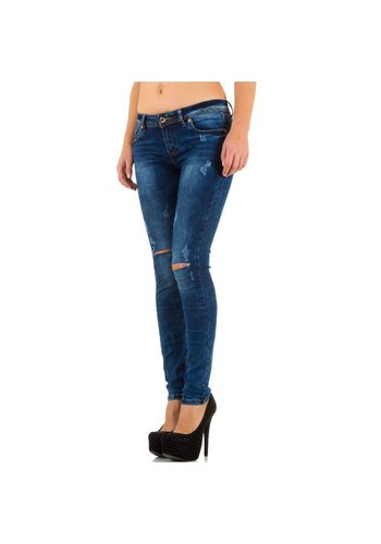 HELLO MISS Damen Jeans von Hello Miss - blue
