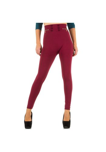 Best Fashion Damen Leggings von Best Fashion Gr. one size - wine