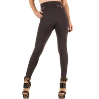 Damen Leggings von Best Fashion Gr. one size - brown