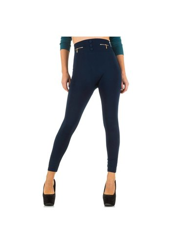Best Fashion Damen Leggings von Best Fashion Gr. one size - blue