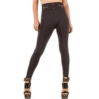Damen Leggings von Best Fashion Gr. one size - taupe