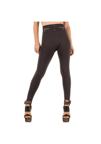 Best Fashion Dames Leggings van Best Fashion one size - Taupe