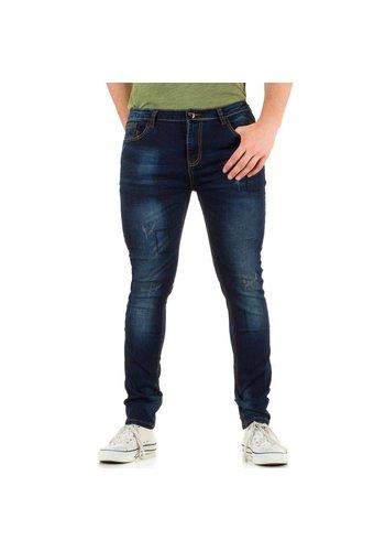 N&P79 Heren Jeans van N&P79 - Blauw