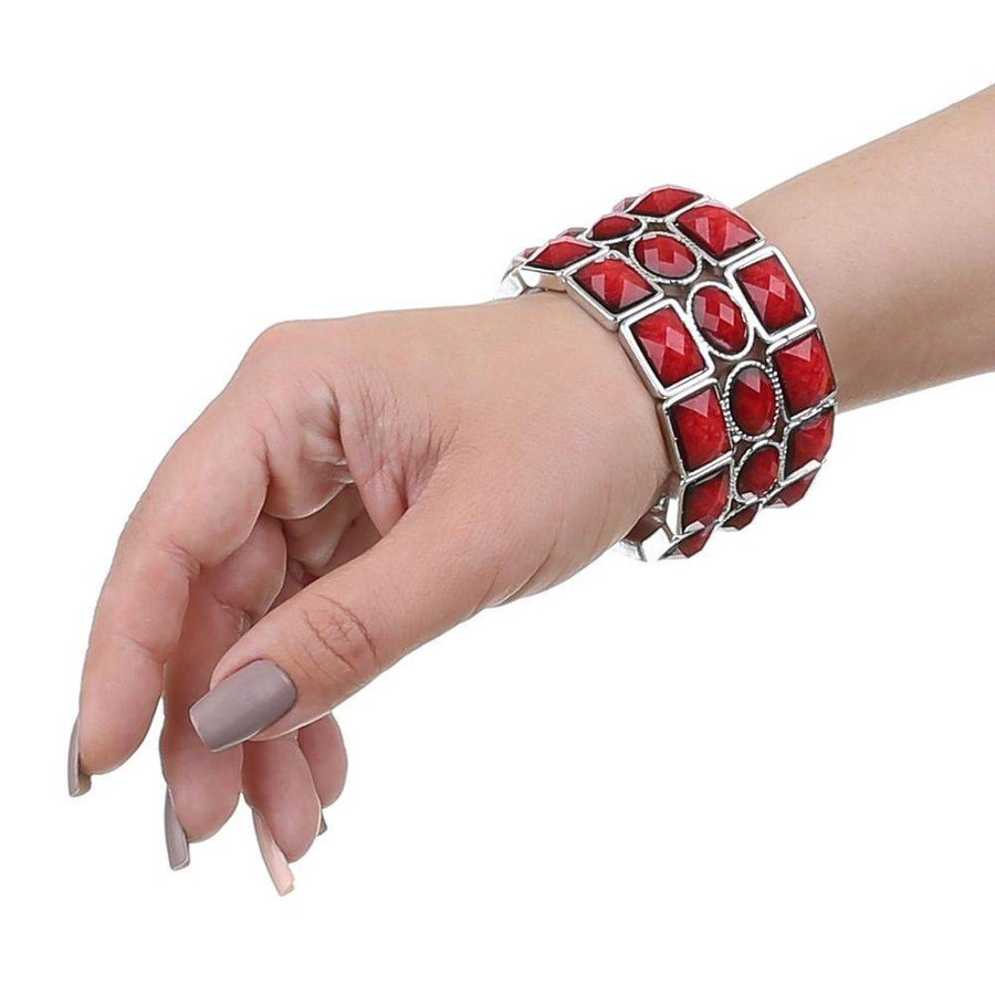 %0ADamen Armband - red