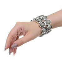 %0ADamen Armband - grey