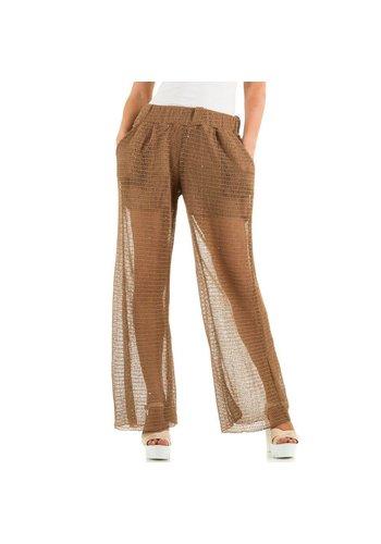 JCL Damen Hose von Jcl - brown