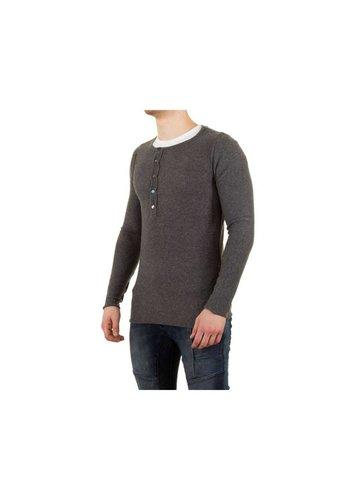 UNIPLAY Heren Shirt van Uniplay - Grijs