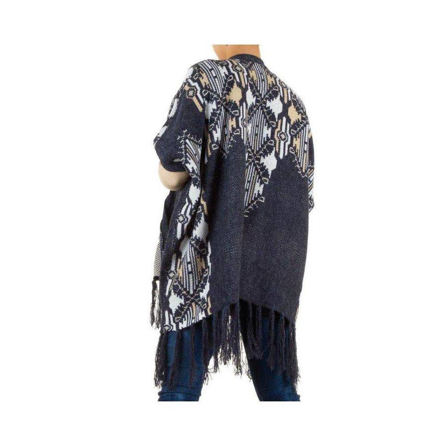 Damen Pullover Gr. one size - blue