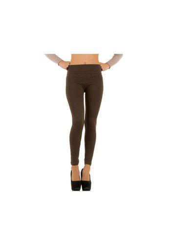 Neckermann Damen Leggings Gr. one size - brown