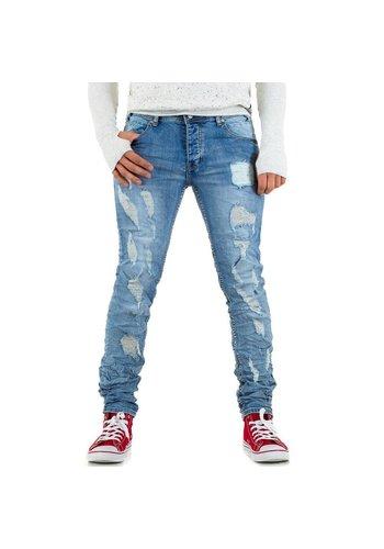 BRUNO LEONI Herren Jeans von Bruno Leoni - L.blue