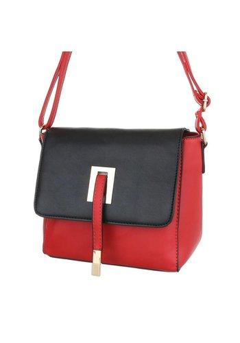 Neckermann Damentasche rot schwarz