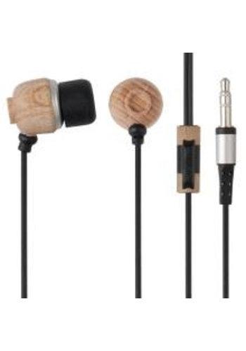 G-Cube Eo-Friendly Organic EarPhone - Black