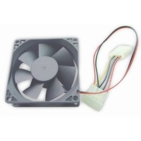 80 mm PC case fan, sleeve bearing, 4 pin power connector