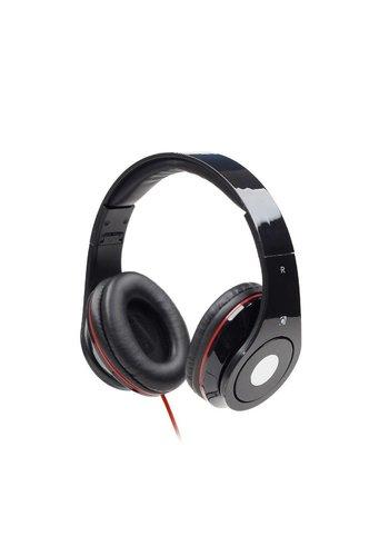 GMB-Audio Faltbares Stereo Headset 'Detroit', schwarz
