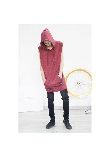 SIXTH JUNE Sweatshirt Homme par Sixth June - bourgogne