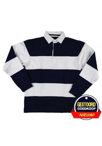 Lemon & Soda Sweater met kraag lange mouw licht-blauw - Copy