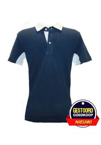 Celio Polo korte mouw blauw