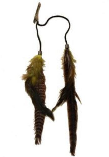 Clockhouse Hairextensions veren met haarclip