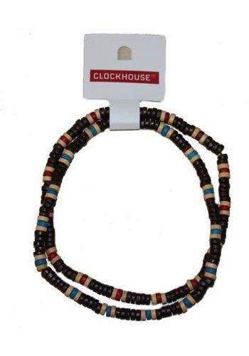 Clockhouse Perlenkette aus Holz