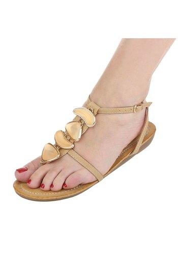 Neckermann Damen Sandaletten - beige