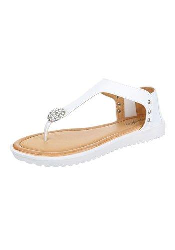 Neckermann Damen Sandaletten - white