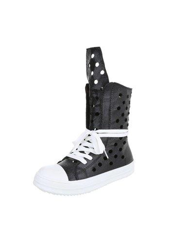 WEIDE Dames Boots Zwart
