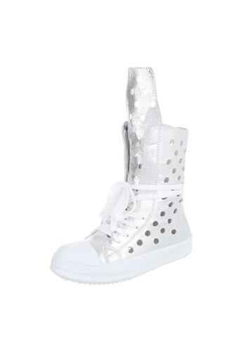 WEIDE Dames Boots Zilver