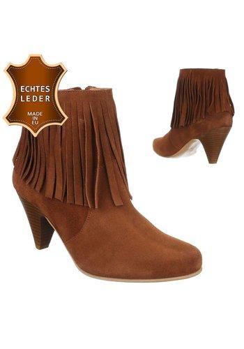 DINAGO SHOES Chaussures en cuir - cognac