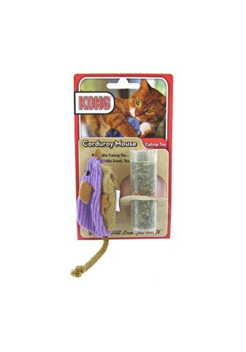Kong Speeltje Pluche muis 10 cm paars
